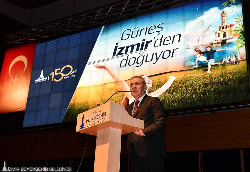 """""""Güneş İzmir'den doğuyor"""""""
