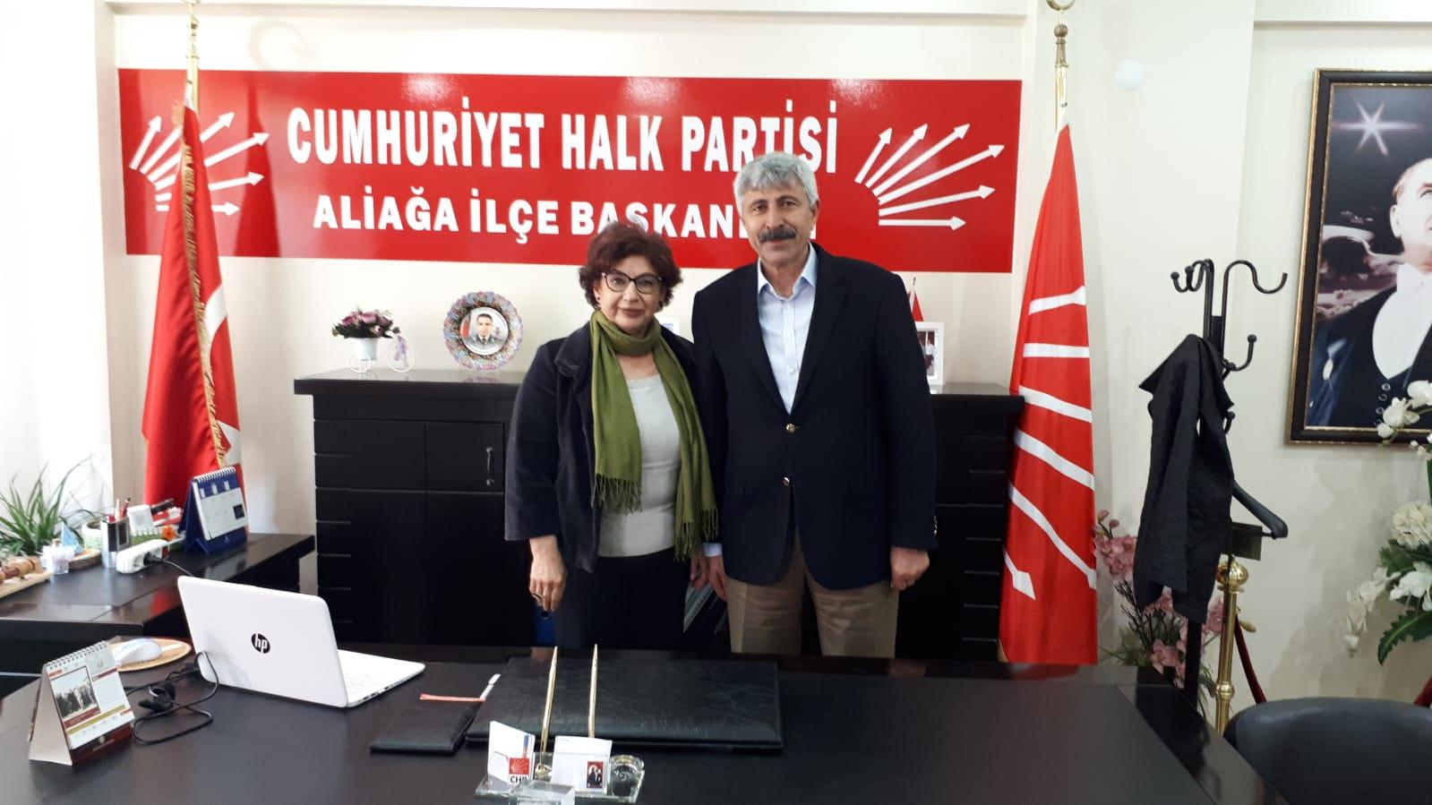 """CHP Aliağa İlçe Başkanı: """"Bu Vebalin Altında Kalacaklar"""""""