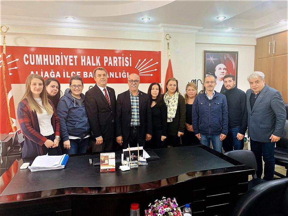 İlçe kongresine kadar CHP Aliağa İlçe Başkanı İlhan Aktaş oldu