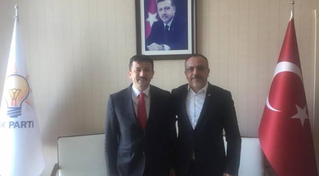 Başkan Ertürk'ten AK Parti Genel Başkan Yardımcısı Hamza Dağ'a ziyaret