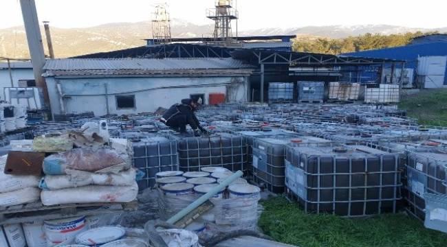 İzmir'de kaçak akaryakıt baskını