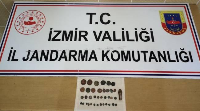 İzmir'de tarihi eser operasyonu :1 Gözaltı