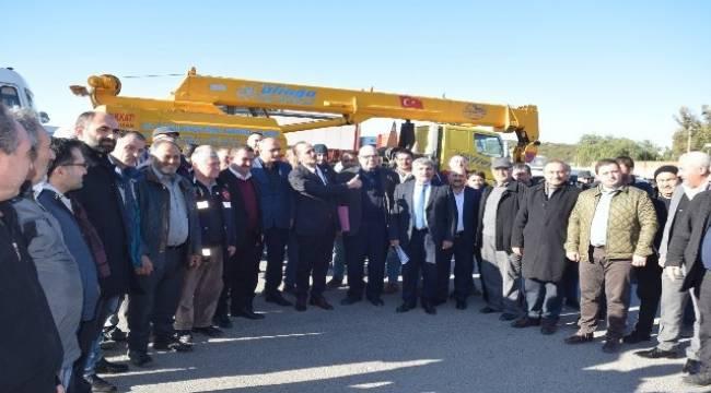 MHP'li Osmanağaoğlu, kamyoncuların sorununu meclise taşıyacak
