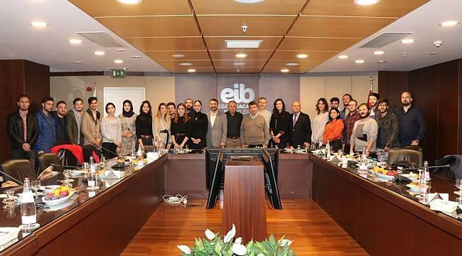 Mobilya sektörünün genç Egeli temsilcileri sanayicilerle buluştu