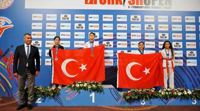 Aliağa Ortaokulu öğrencisi Zeynep Arzuman Avrupa 3. sü oldu.