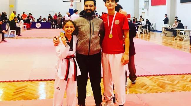 Aliağalı taekwondoculardan altın madalya başarısı