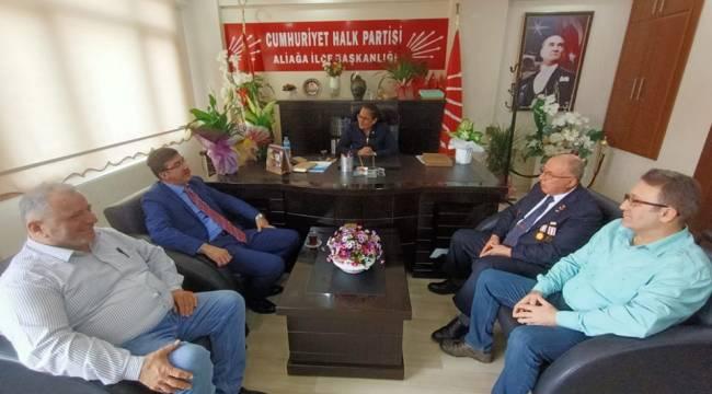 Başkan Oğuzhan'a Tebrik Ziyaretleri Devam Ediyor