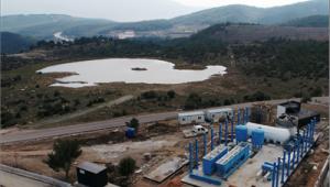 Karaçam Göleti'nden içme suyu elde edilecek