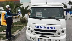 İzmir Büyükşehir'den minibüs esnafına destek