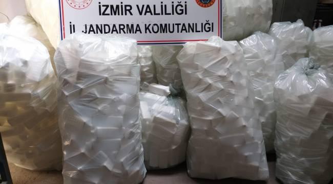İzmir'de Sahte dezenfektan üreten iş yerine operasyon