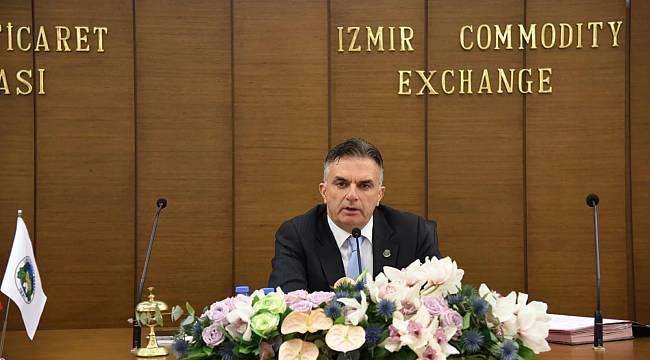Normalleşme süreci İzmir Ticaret Borsası Meclisi'nde konuşuldu