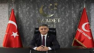 Saadet Partisi İzmir İl Başkanı Erduran'dan Ankara Barosu'na tepki: