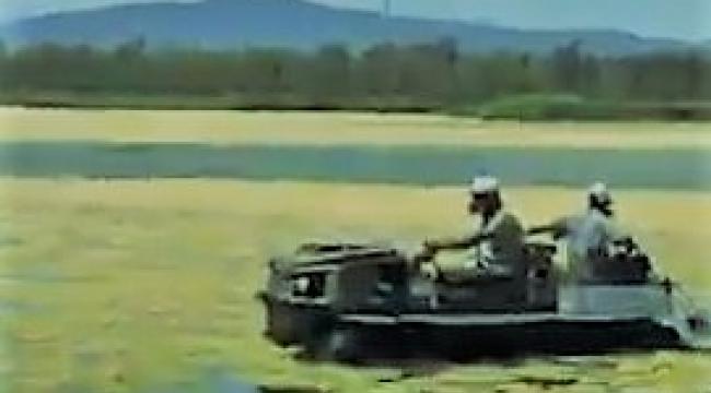 Amfibik Araçlar da Devrede...