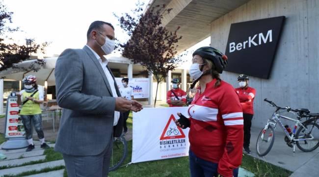 Dünya Bisiklet Günü'nde Bergama'da etkinlik düzenlendi