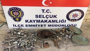 polis hırsızları kıskıvrak yakaladı