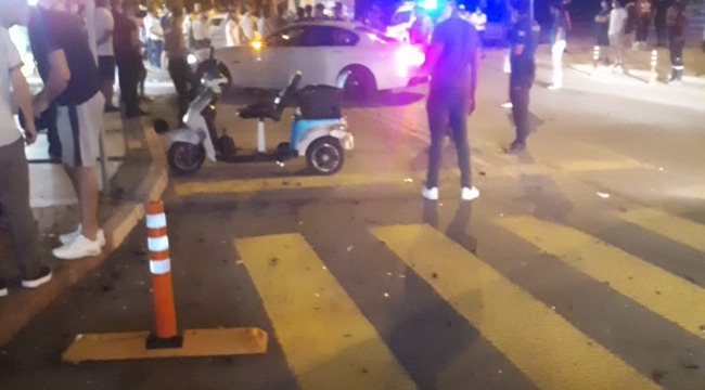 Aliağa'da Trafik Kazası :2 yaralı