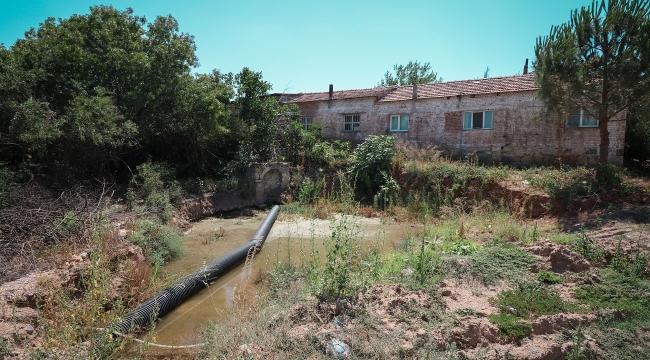 Bergama Bozköy'de tarihi çeşme yeniden hayat buluyor