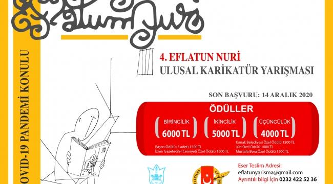 4. Eflatun Nuri Ulusal Karikatür Yarışması başlıyor Karikatüristlerin gözüyle pandemi