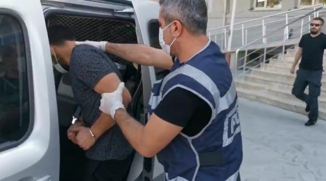 Aliağa'da 35 suç kaydı olan cezaevi firarisi yakalandı