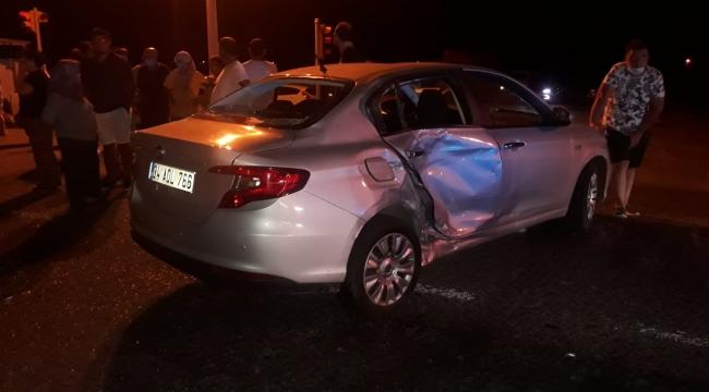 Aliağa'da Trafik kazası