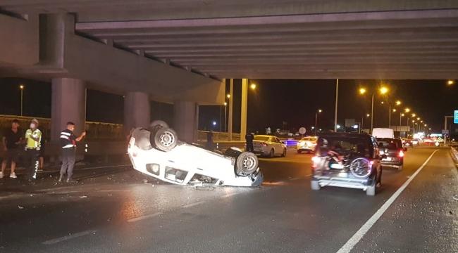 Aliağa'da trafik kazası : üç kişi yaralandı