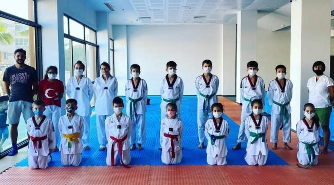 Bergama'da 250 çocuk spor ile tanıştı