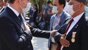 Bergama'da Gaziler Günü Kutlandı