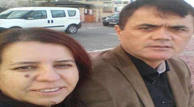 eşinin boğazını kesip, intihar etti