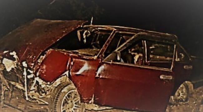 Kınık'da Trafik Kazası:1 ölü 4 yaralı