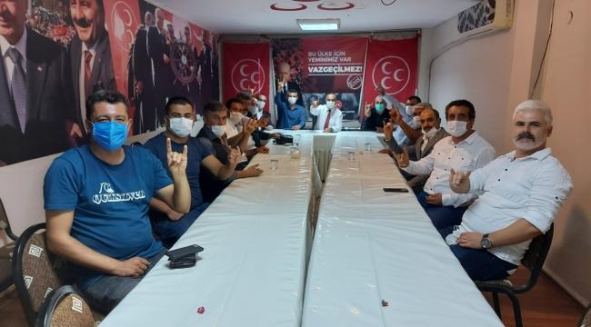MHP Aliağa ilçe yönetimi belli oldu