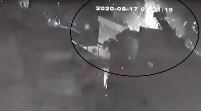 tüp bomba gibi patladı: 2 kişi yaralandı, araçlar hasar gördü