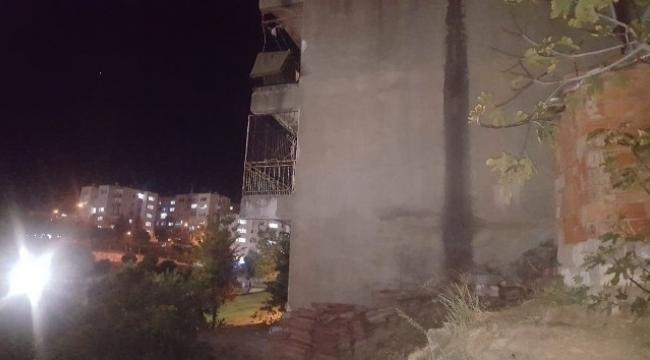 2. kattan düşen çocuk hayatını kaybetti