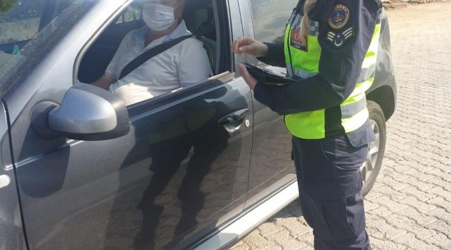 828 sürücü ve yolcuya 357 bin 431 Türk Lirası idari para cezası uygulandı