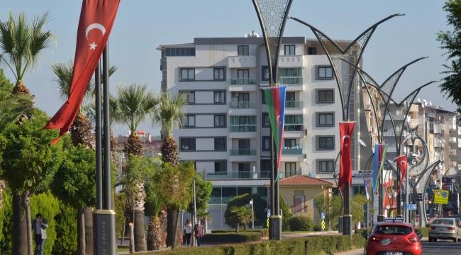 Aliağa'dan Azerbaycan'a Bayraklı Destek