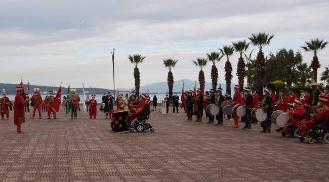 Cumhuriyet'in 97'inci Yılı Aliağa'da Kutlandı