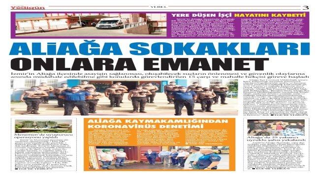 Ege'de Yedigün Gazetesi Yayın Hayatına Başladı