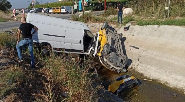 Menemen'de kazada can pazarı: 6 yaralı