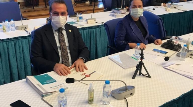 Ak Partili Kırkpınar, Aliağa , Dikili Kemalpaşa ve Kiraz ilçelerinde yapılacak olan hastaneler için Bakan Koca'dan Destek İstedi