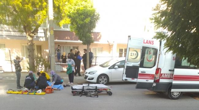 Aliağa'da bir kadın, eski eşi tarafından bıçaklandı