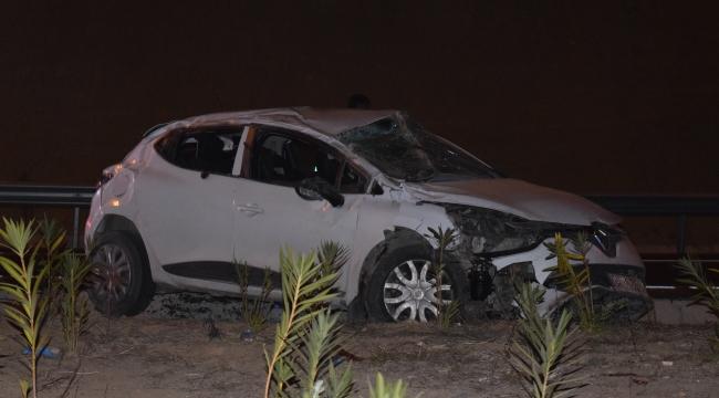 Aliağa'da trafik kazası 1 kişi hayatını kaybetti
