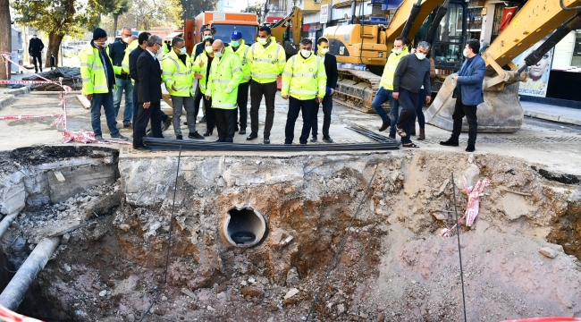 Başkan Soyer, taşkınları sona erdirecek projeleri yerinde inceledi