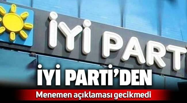 İYİ Parti'den 'Menemen' açıklaması Üç isim tutuklanmıştı…