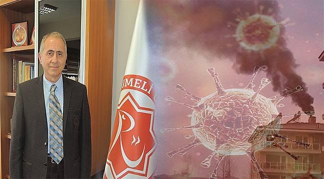 """Prof. Dr. Dodurka'dan Covid-19 açıklaması: """"Kömürden vazgeçmeliyiz!"""""""