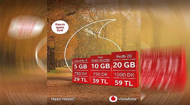 Vodafone'dan kasıma özel avantajlı teklifler