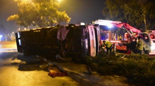 İzmir'de Trafik Kazası:1 Yaralı
