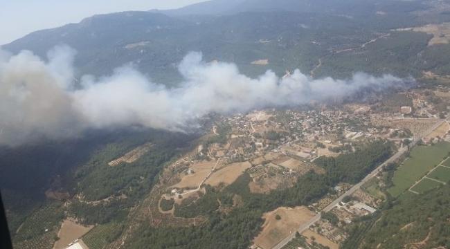 Menderes ilçesinde 430 hektar ormanın yanmasına neden olduğu iddia edilen şüpheliye dava