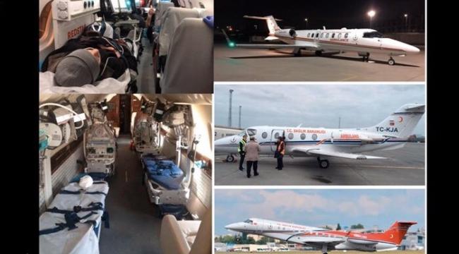 """Rektör Budak, """"Hava ambulansı kapasitesi açısından dünyanın en önemli 10 ülkesinden biriyiz"""""""