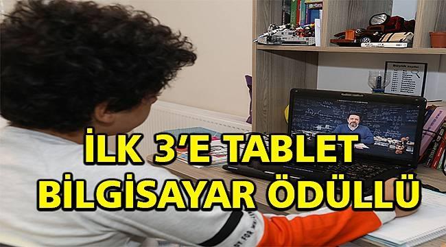 LGS ve YKS öğrencilerine tablet ödüllü sınav