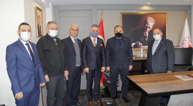 Saadet Partisi İl Başkanı Erduran, Aliağa'da ziyaretlerde bulundu