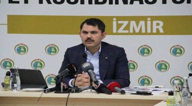 """Bakan Kurum: """"Rıza Bey Apartmanı alanında depremzede vatandaşlarımızın hatıraları yaşayacak"""""""